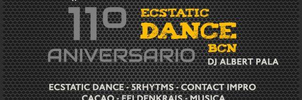 11º Aniversario Ecstatic Dance BCN 3//4 Julio.