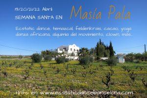 Semana Santa Masía Pala 2019. 19/20/21/22 Abril.